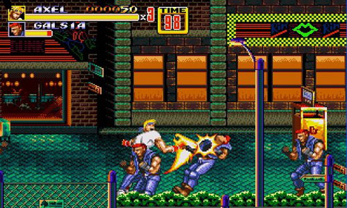 Streets of Rage Header
