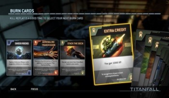 Titanfall Burn Cards: a easy way to get extra XP