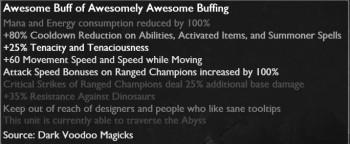 League of Legends Ultra Rapid Fire