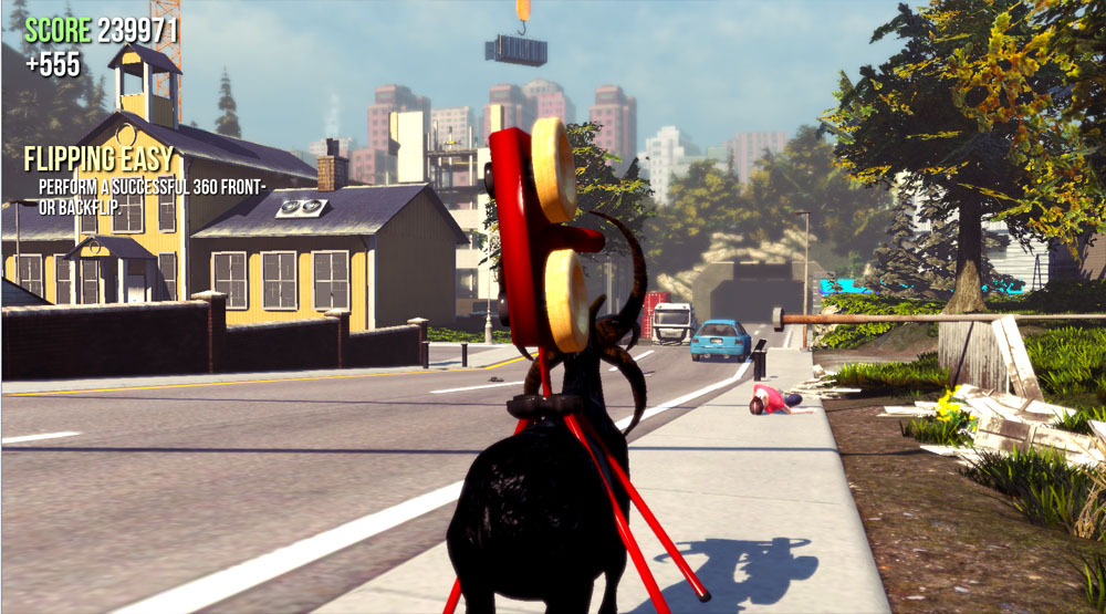 Goat Simulator Review Unleashing Chaos In The Most Hilarious Way