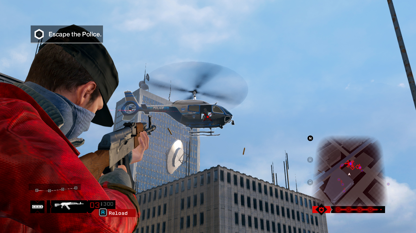 How To Escape Helicopter In Watch Dogs