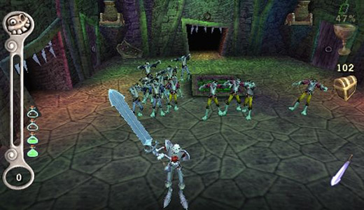 We've all had this dream. Y'know, the one where you're a blurry skeletal knight from the 90s, and a pack of equally blurry zombies were shuffling forward to chew on your eye socket?