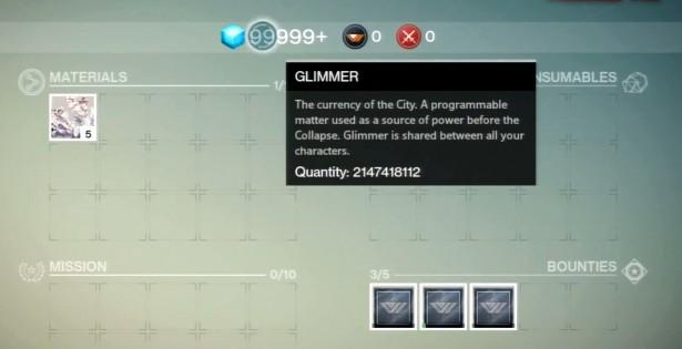 Destiny glimmer hack