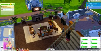 sims 4 party