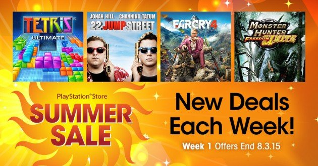 Summer sale Week 1