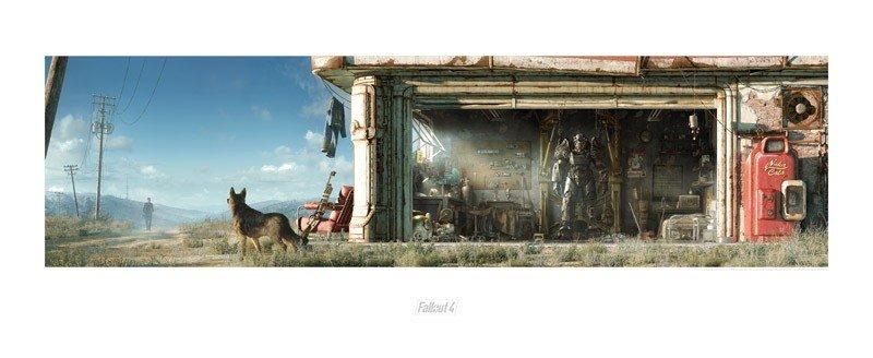 Fallout 4 Lithograph