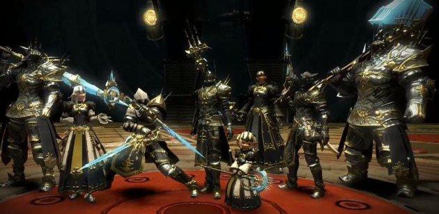 Fantasy XIV alexander armor