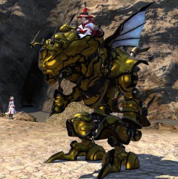 Gilded Magitek Armor FFXIV