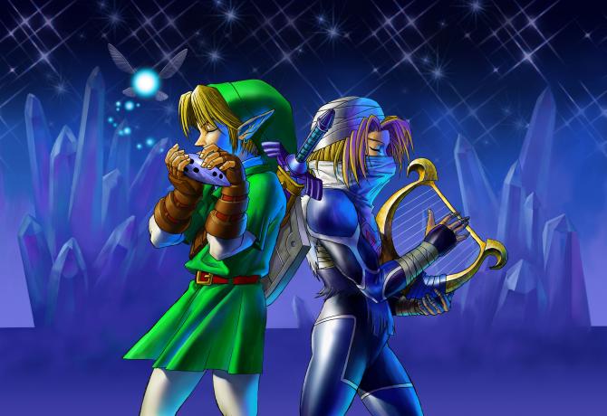 Link_and_Sheik_Duet