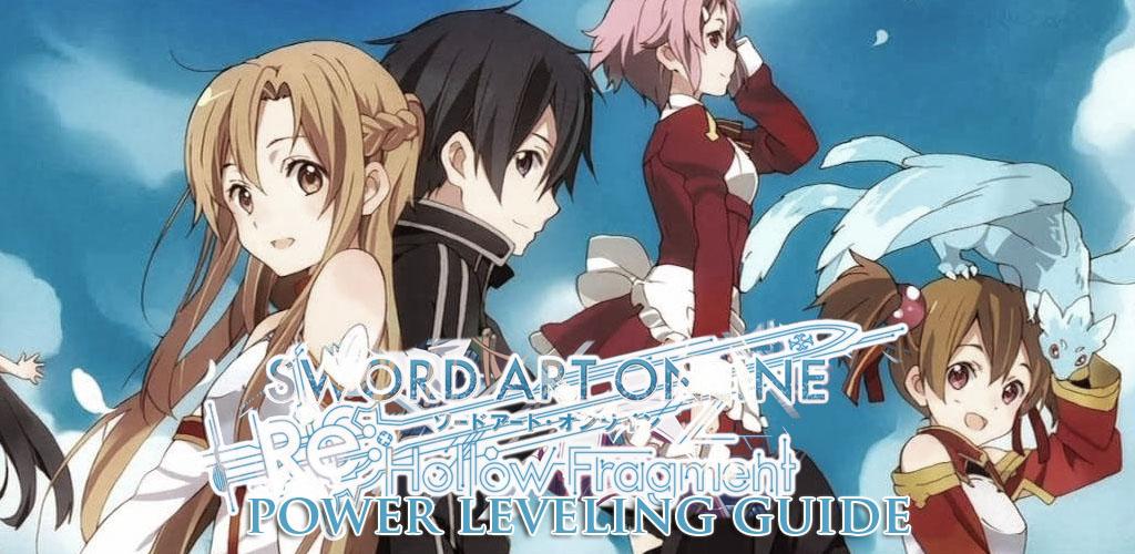 Sword Art Online RE: Hollow Fragment: Power Leveling Guide - Vgamerz