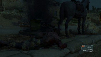 Metal Gear Solid V: The Phantom Pain D-Horse