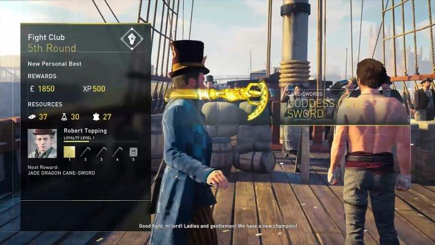 AC Syndicate Money Fight Club