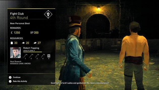 AC Syndicate Fight Club