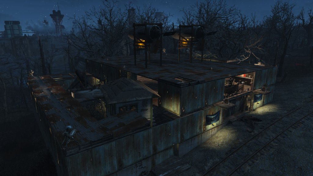 how to increase build limit in fallout 4