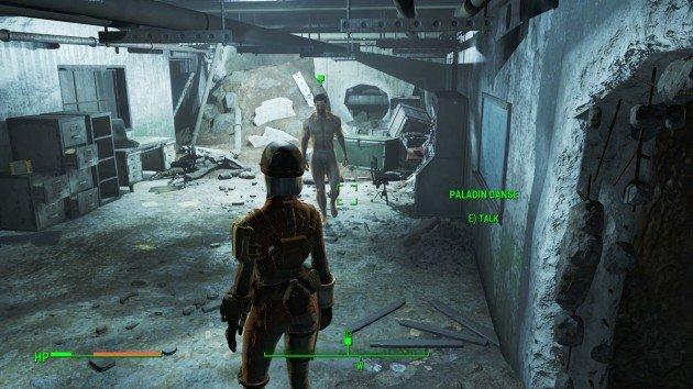 Fallout 4 - Blind Betrayal - Locate Paladin Danse