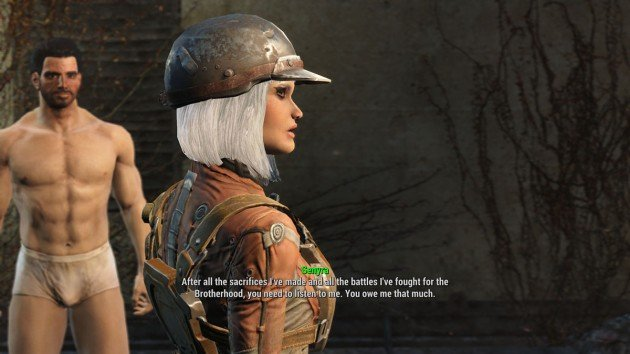 Fallout 4 - Blind Betrayal - Persuading Elder Maxson