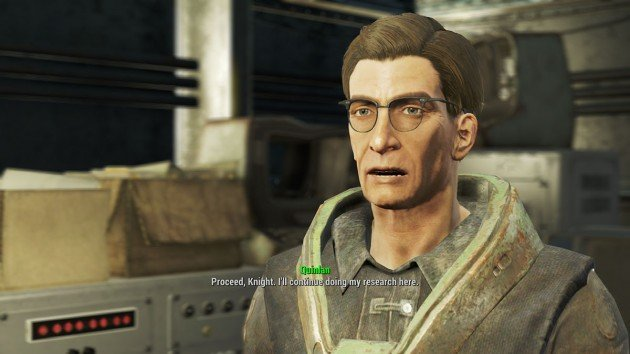 Fallout 4 - Blind Betrayal - Talk to Proctor Quinlan