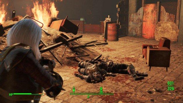 Fallout 4 - Butcher's Bill - Fire Center Place