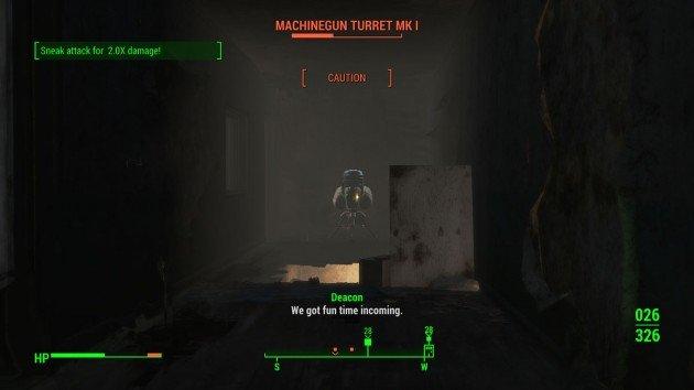 Fallout 4 - Butcher's Bill - Turret's Path
