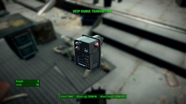 Fallout 4 - Call to Arms - Deep Range Transmitter