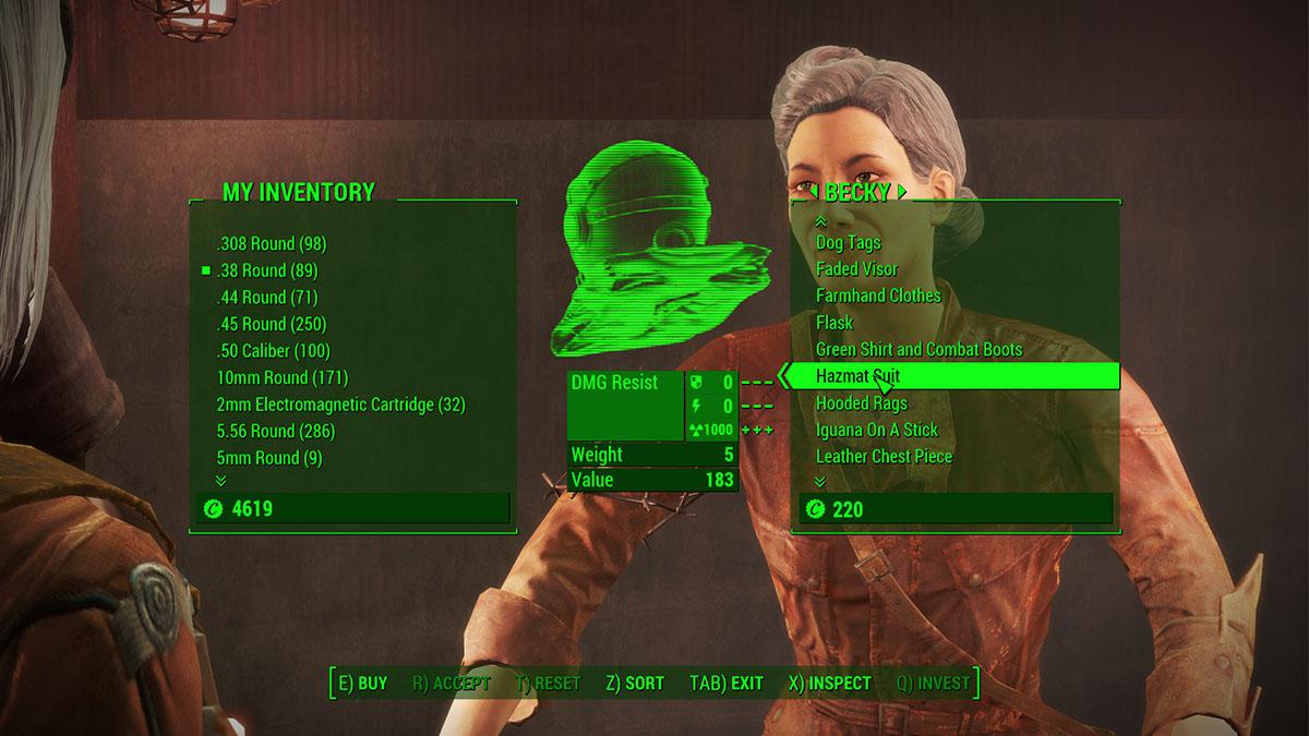 Fallout 4 - Diamond City - Hazmat Suit