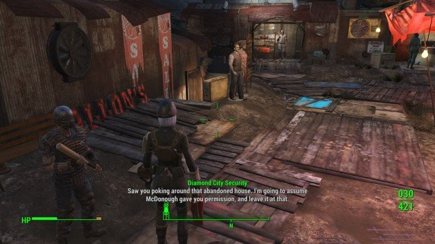 Fallout 4 - Diamond City - Hazmat Suit