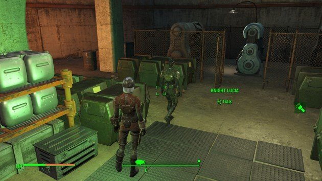 Fallout 4 - Duty of Dishonor - Boston Airport - Knight Lucia