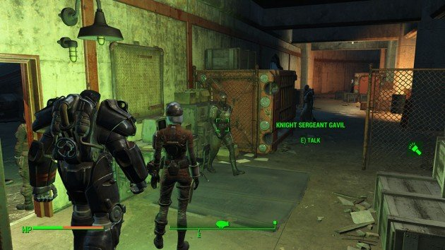 Fallout 4 - Duty of Dishonor - Boston Airport - Knight Sergeant Gavil