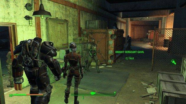 Fallout 4 - Duty of Dishonor - Boston Airport - Knight Sergeant Gavil