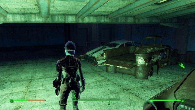Fallout 4 - Duty of Dishonor - Boston Airport Ruins - Elevator Doors