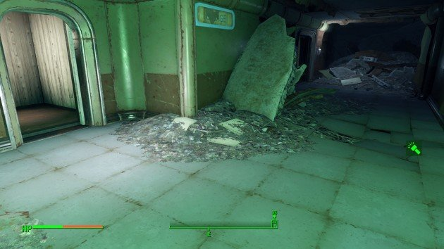 Fallout 4 - Duty of Dishonor - Boston Airport Ruins - Going Right