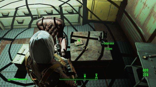 Fallout 4 - Getting a Clue - Cigar Box Clue
