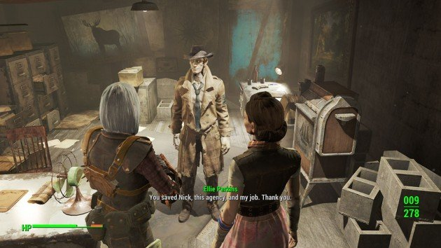 Fallout 4 - Getting a Clue - Telling Nick About Your Memories