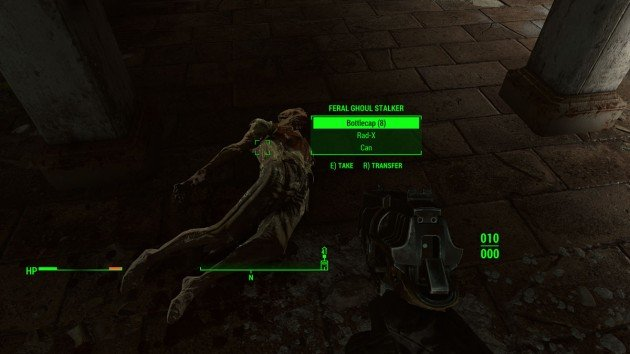 Fallout 4 - Kill the Feral Ghoul Stalker - Feral Ghoul Stalker
