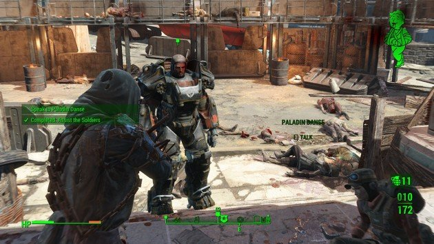 Fallout 4 Mission 5 – Fire Support - Talk to Danse