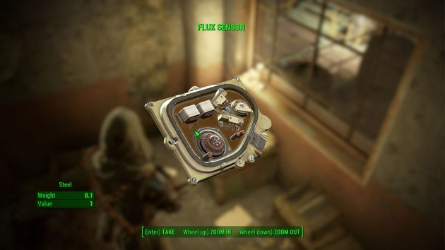 Fallout 4 - Quartermastery - Flux Sensor