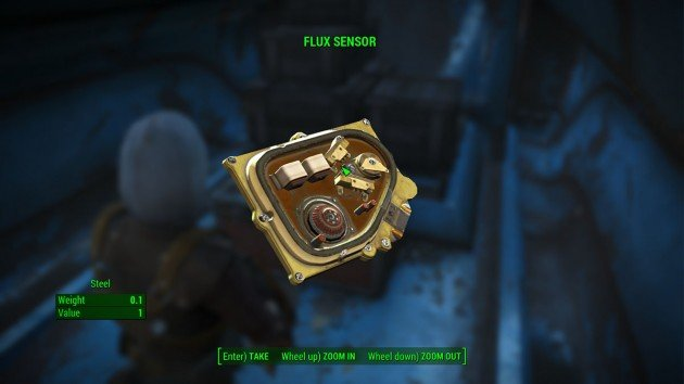 Fallout 4 - Quartermastery Part 2 - Flux Sensor