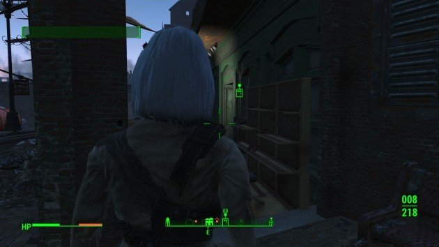 Fallout 4 - Raider Troubles at Oberland Station - Enter Back Street Apparel