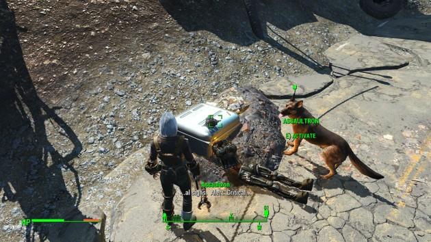 Fallout 4 - Reunions - Assaultron