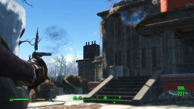 Fallout 4 - Reunions - Fort Hagen Turrets