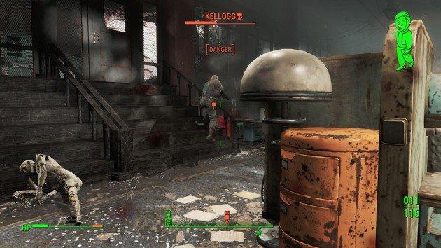 Fallout 4 - Reunions - Killing Kellogg