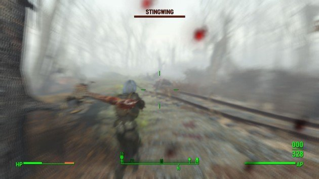 Fallout 4 - Reunions - Second Ambush Bear and Stingwings