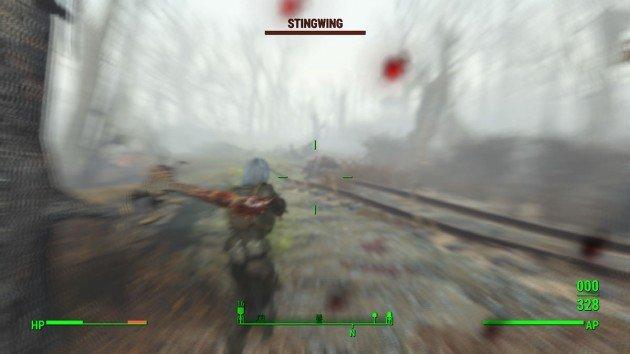 Fallout 4 - Reunions - Second Ambush Bear and Stingwings