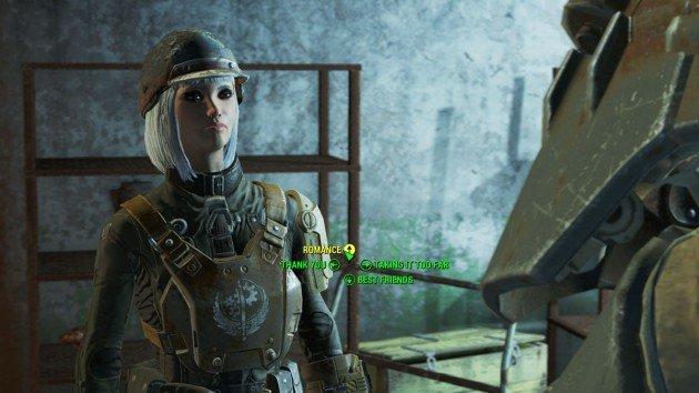 Fallout 4 - Romance Paladin Danse - Romance After Blind Betrayal
