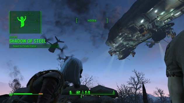 Fallout 4 - Romance Paladin Danse - Shadow of Steel Mission