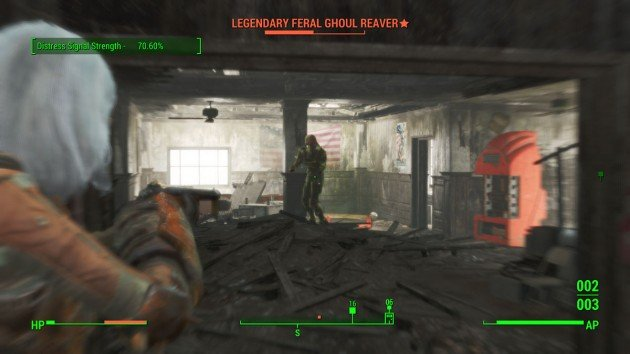Fallout 4 - The Lost Patrol - Legendary Geral Ghoul Reaver