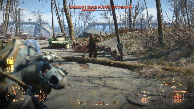 Fallout 4 - The Lost Patrol - Legendary Super Mutants