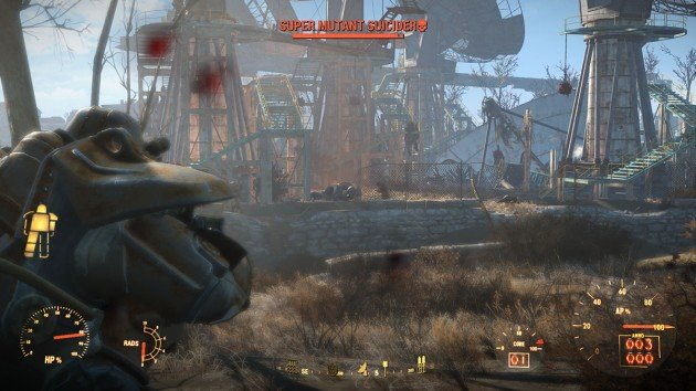 Fallout 4 - The Lost Patrol - Revere Satellite Array