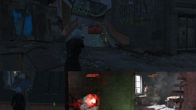 Fallout 4 - The Silver Shroud - Kill Kendra