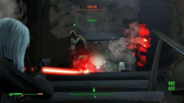 Fallout 4 - The Silver Shroud - Kill Sinjin